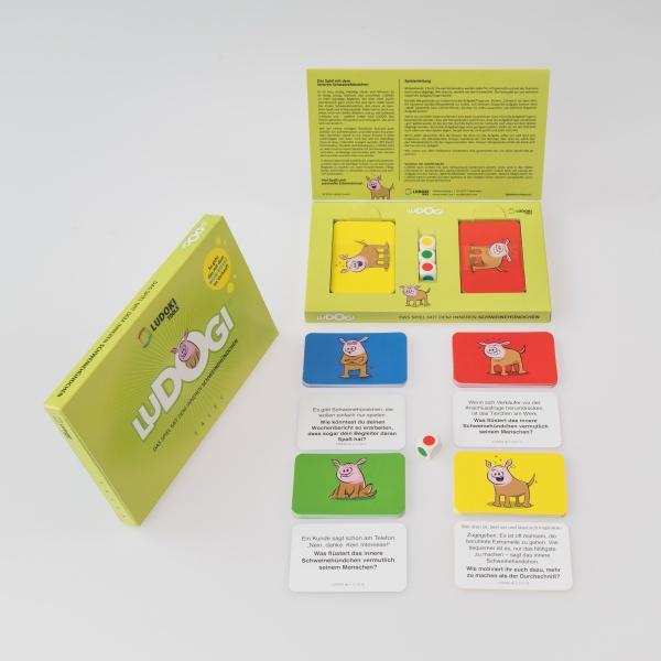 LUDOGI - Das Spiel mit dem inneren Schweinehündchen